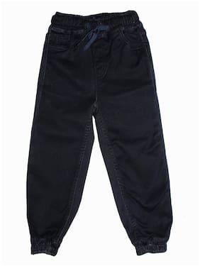 KiddoPanti Boy's Regular fit Jeans - Black