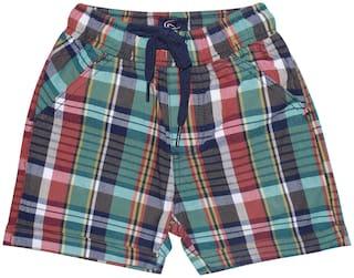KiddoPanti Boy Shorts & 3/4ths Green