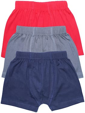 KiddoPanti Boxer For Boys - Multi , Set of 3