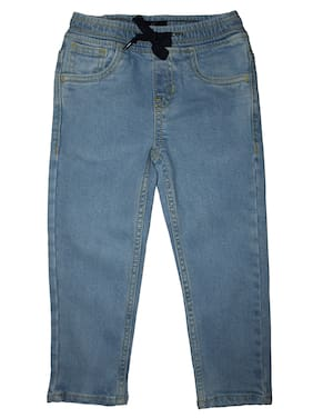 KiddoPanti Boy's Regular fit Jeans - Blue