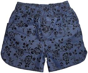 Blue Hot Pants Shorts