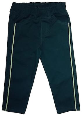 KiddoPanti Girl Cotton Trousers - Green