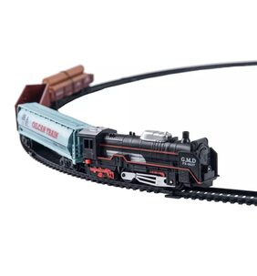 Kiditos Battery Operated Rail king Train Set - Intelligent Classical Train