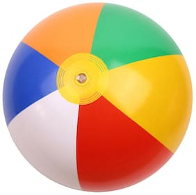 Kids Beach Ball Rainbow Inflatable Toys 6 Colors for Pool Party Beach Summer Toy