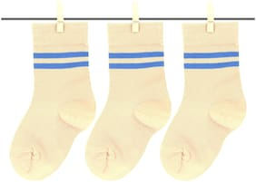 Neska Moda Boy Cotton Socks - Beige