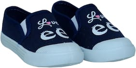 Arete Navy Blue Casual Shoes For Girls