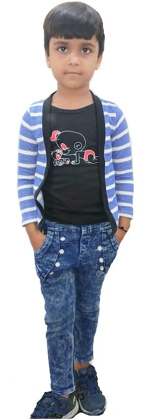 RRC Boy Cotton Striped T-shirt - Multi