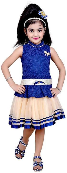 Kids dresses baby clothing stylish girls Skirt top dress premium