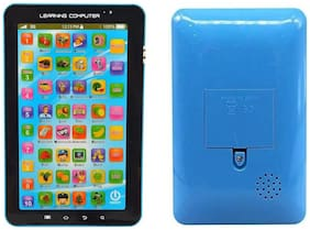 Kids Educational Learning Tablet Computer Educational Learning Tablet Toy for Kids Gift (1Pc) Multicolor