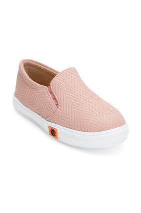 ZAVO Pink Girls Casual Shoes