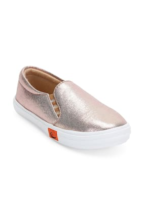 ZAVO Pink Girls Casual Shoes