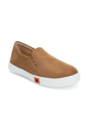 ZAVO Tan Girls Casual Shoes