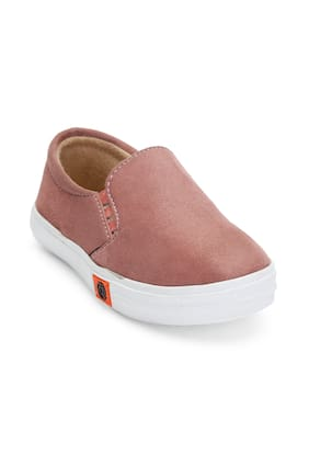 ZAVO Orange Girls Casual Shoes