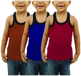 CUPATEX Vest For Boys - Multi , Set of 3