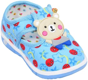 Enso Blue Sandals For Infants