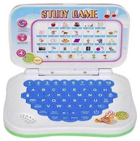 Kids Mini Laptop English Learner Study Game Computer Notebook Toy By Signomark.