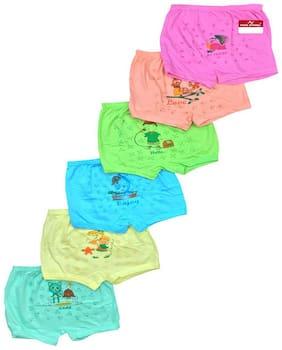 Pride Apparel Panty & bloomer for Girls - Multi , Set of 6
