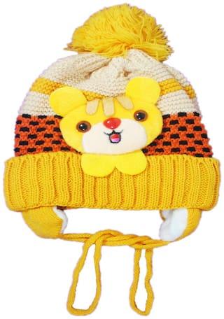 Netboys Boy Wool Cap - Yellow