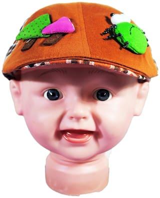 Netboys Boy Cotton Cap - Orange
