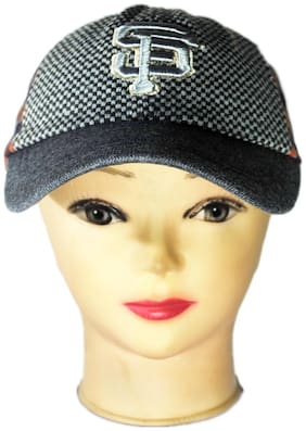 Netboys Boy Cotton Cap - Grey
