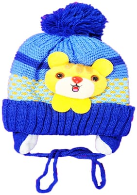 Netboys Boy Wool Cap - Blue