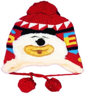 FAVINO Boy Wool Cap - Red