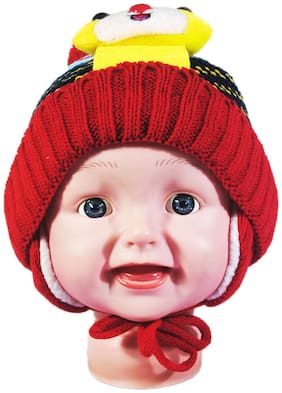 FAVINO Boy Wool Cap - Red