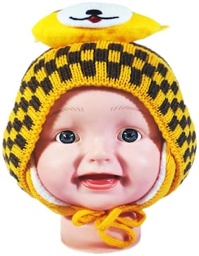 FAVINO Boy Wool Cap - Yellow