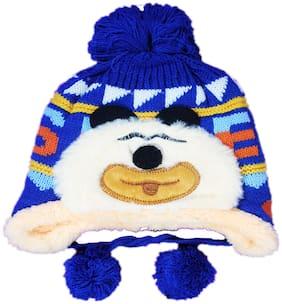 FAVINO Boy Wool Cap - Blue