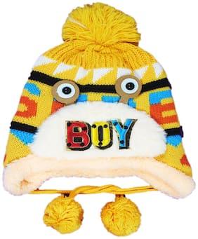 FAVINO Boy Wool Cap - Yellow