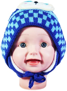 FAVINO Boy Wool Cap - Blue
