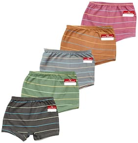 Pride Apparel Panty & bloomer for Girls - Multi , Set of 5