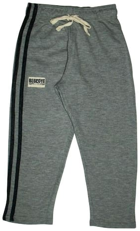 BLUEOYE Boy Solid Trousers - Grey
