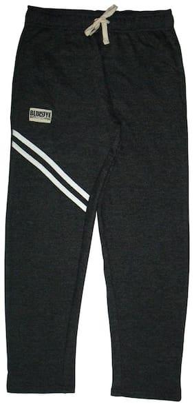 BLUEOYE Boy Solid Trousers - Black