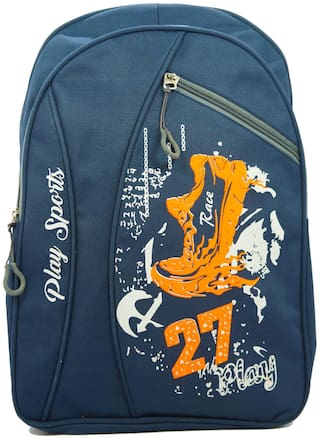 Kidz 22 LTR BlueSchool Bag