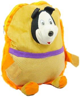 Kidz 4 LTR Yellow School Bag