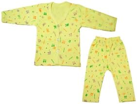 Kidz Unisex Top & bottom set - Yellow