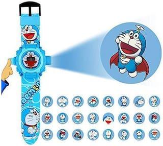 KIDZ Doreman Different Images Projector Digital Toy Watch For Kids.