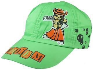 kidz green cap