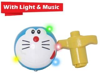 Kidz Light & Music Spinning Top blue