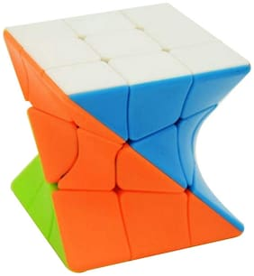 Kidz Speed Cube, High Stability Stickerless Cube, Rubik Cube for Kids (Twister)