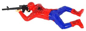 Kidz Spiderman Crawling  Toy with Lights and Sound (Assorted)