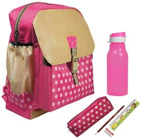 Kidz Stylish School Bag Pink