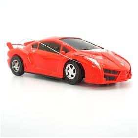 Kidz Super Racer Steering Remote Control Red Color Car For Kids