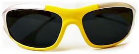 Kidz Wrap Around Sunglasses Yellow