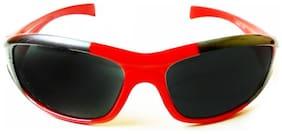 Kidz Wrap Around Sunglasses Red