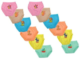 MRB Panty & bloomer For Unisex - Multi , 12
