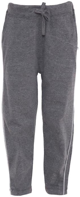 KISSERO Boy Cotton Track pants - Grey