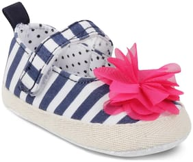Kittens Blue Ballerinas For Infants