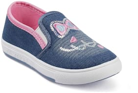 Kittens Blue Casual Shoes For Girls
